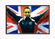 Beth Tweddle Autograph Signed Photo - Gymnastics